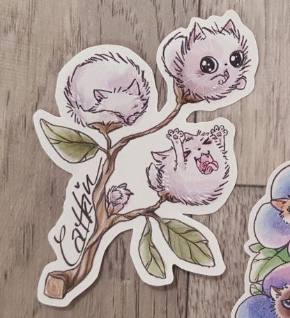 Catkin Sticker