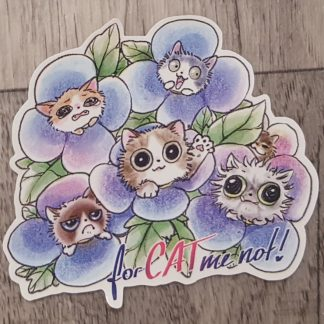 Forcat-me-not Sticker