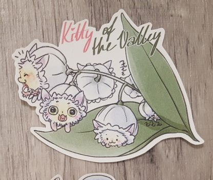 Kitty of the Valley Sticker