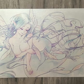Mermaid A6 Print
