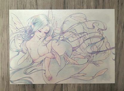 Mermaid A6 Print